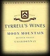 Tyrrell's Moon Mountain Hunter Valley Chardonnay 2001 Front Label