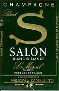 Salon Blanc de Blancs Le Mesnil (in Gift Box) 1988 Front Label