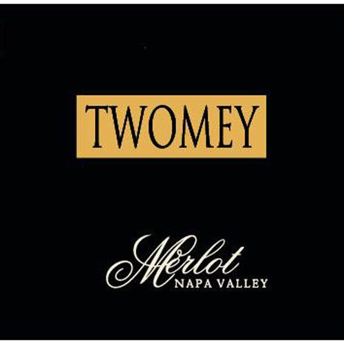 Twomey Cellars by Silver Oak Merlot 2001 Front Label