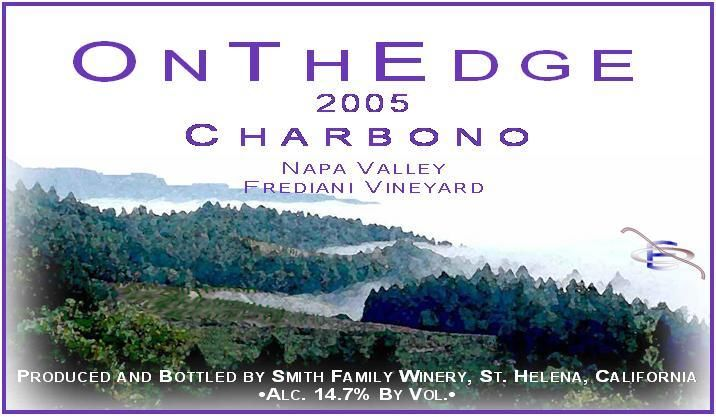 Vermeil Wines Frediani Vineyard Charbono 2005 Front Label