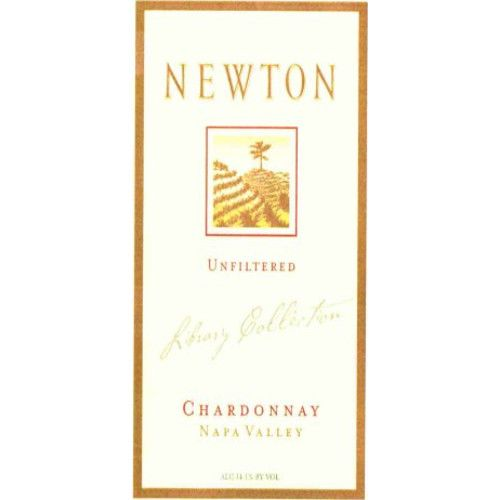 Newton Unfiltered Chardonnay 2001 Front Label