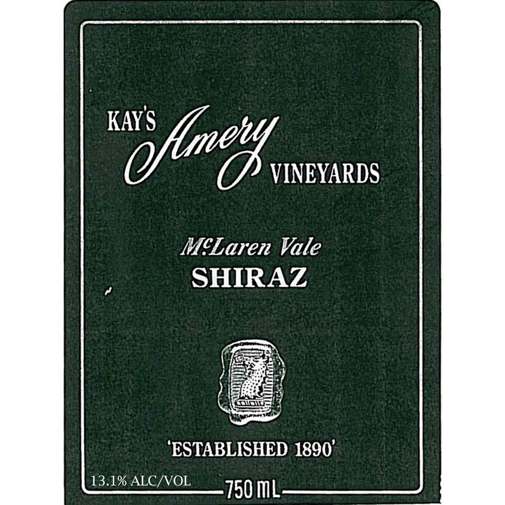 Kay Brothers Shiraz 2001 Front Label