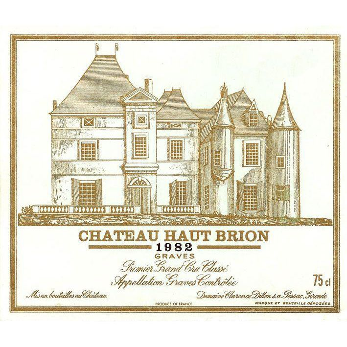 Chateau Haut-Brion  1982 Front Label