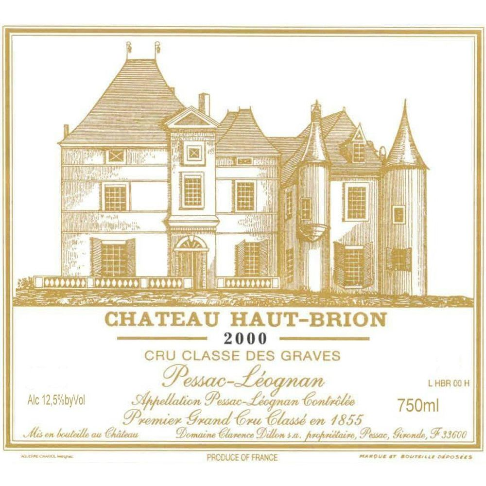 Chateau Haut-Brion  2000 Front Label