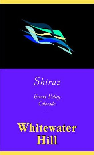 Whitewater Hill Shiraz 2014 Front Label