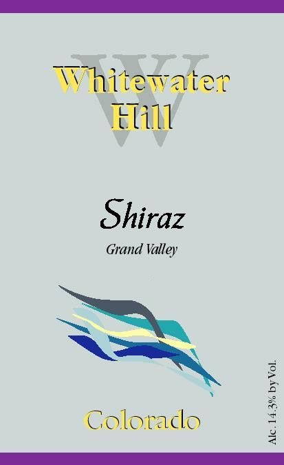 Whitewater Hill Shiraz 2011 Front Label