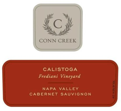 Conn Creek Frediani Vineyard Cabernet Sauvignon 2011 Front Label
