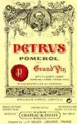 Chateau Petrus  1988 Front Label