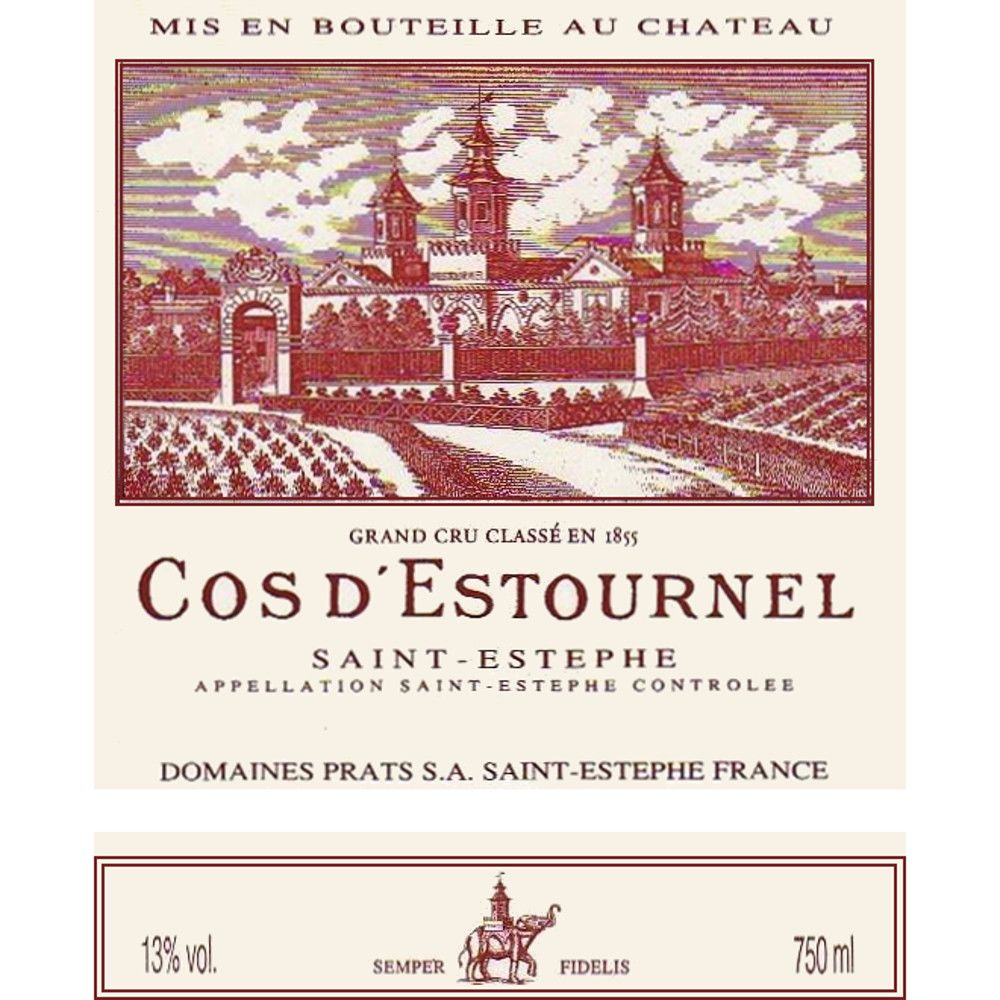 Chateau Cos d'Estournel  1989 Front Label