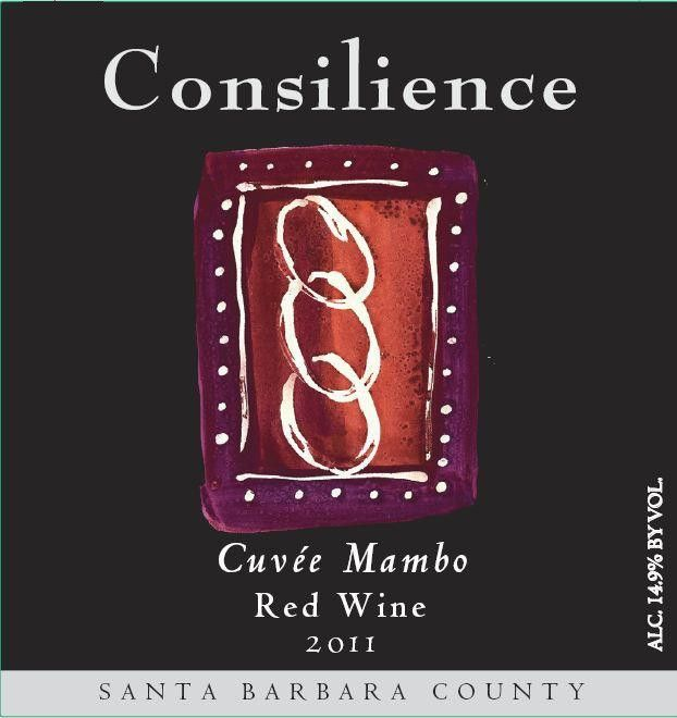 Consilience Cuvee Mambo Red Wine 2011 Front Label
