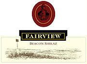 Fairview Beacon Shiraz 2002 Front Label