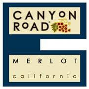 Canyon Road Merlot 2002 Front Label