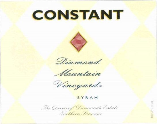 Constant Syrah 2011 Front Label