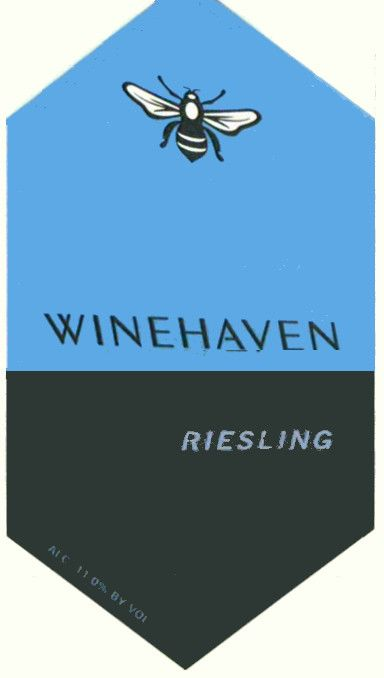 WineHaven Winery and Vineyard Riesling 2007 Front Label