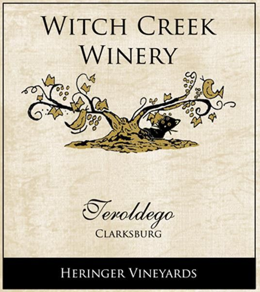 Witch Creek Winery Heringer Vineyards Teroldego 2012 Front Label