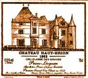 Chateau Haut-Brion  1966 Front Label