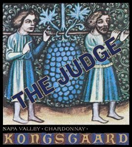 Kongsgaard The Judge Chardonnay 2010 Front Label