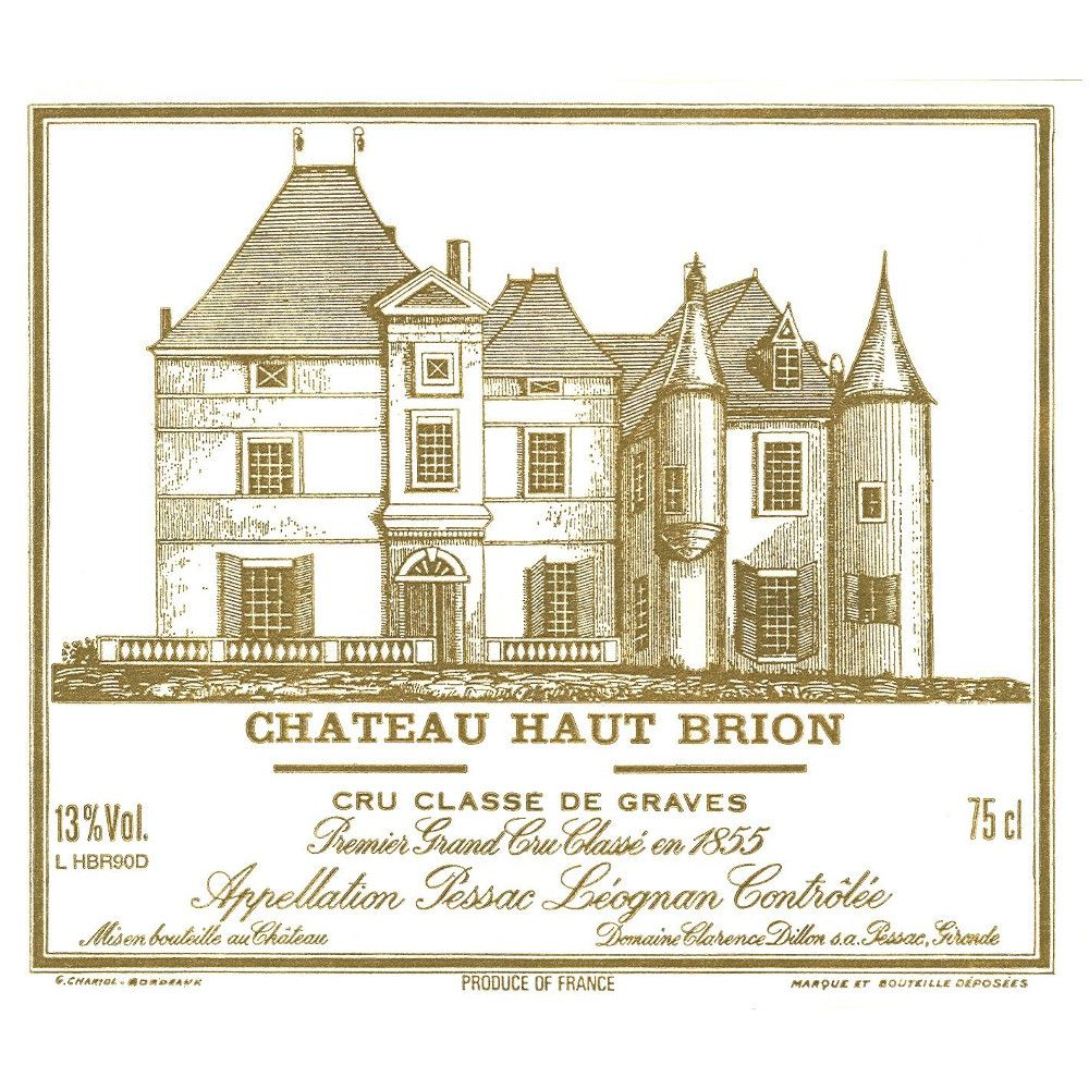 Chateau Haut-Brion  1994 Front Label