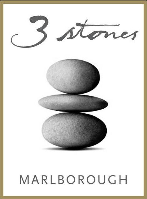 3 Stones South Island Pinot Noir 2012 Front Label