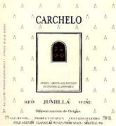 Bodegas Carchelo Jumilla Monastrell Mourvedre 1998 Front Label
