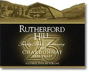 Rutherford Hill Chardonnay 1997 Front Label