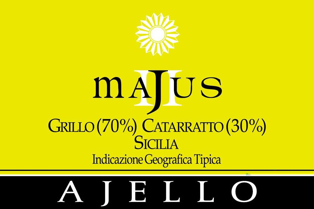 Ajello Majus Grillo - Cattaratto 2004 Front Label