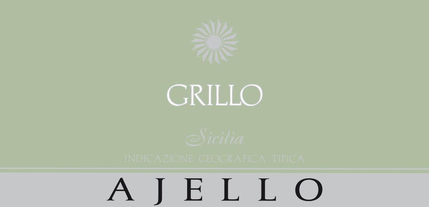 Ajello Grillo 2010 Front Label
