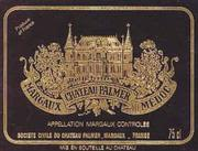 Chateau Palmer  1966 Front Label