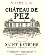 Chateau de Pez  1997 Front Label