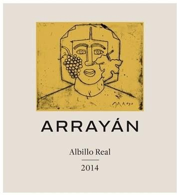 Arrayan Albillo Real 2014 Front Label