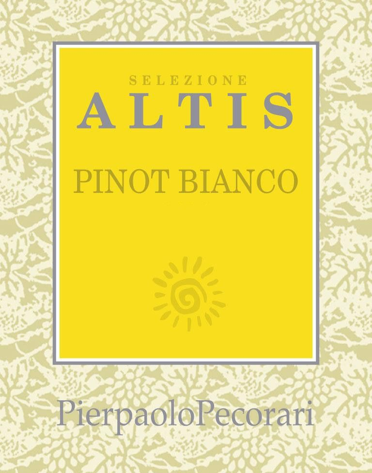 PierPaolo Selezione Altis Pinot Bianco 2012 Front Label