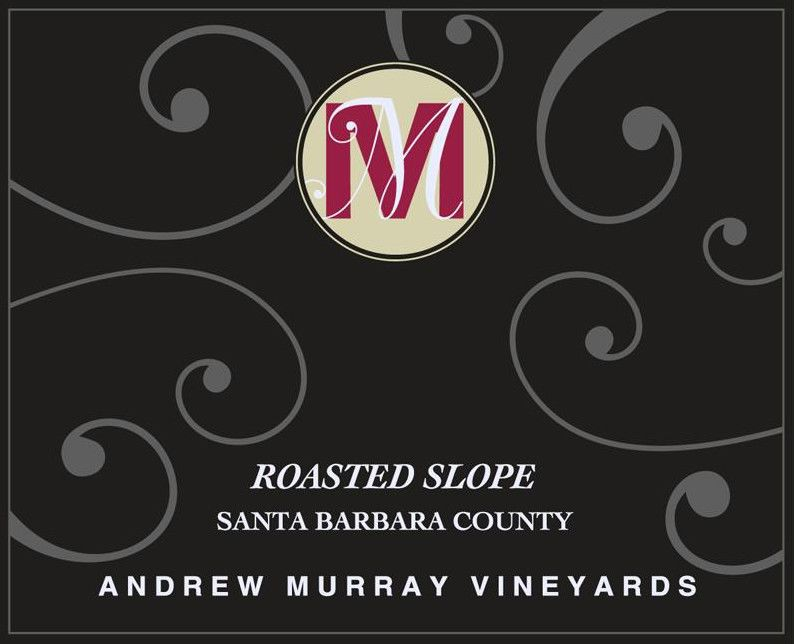 Andrew Murray Roasted Slope 2003 Front Label