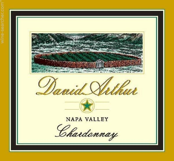 David Arthur Chardonnay 2014 Front Label