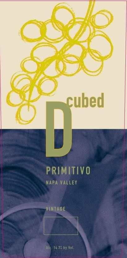 D-Cubed Cellars Primitivo 2010 Front Label