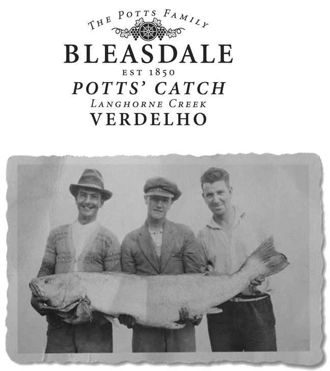 Bleasdale Potts Catch Verdelho 2016 Front Label