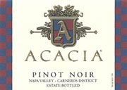 Acacia Pinot Noir 2002 Front Label