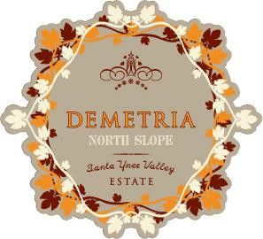 Demetria Estate North Slope Red Wine 2011 Front Label