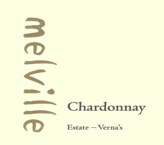 Melville Verna's Chardonnay 2007  Front Label