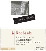Redbank Long Paddock Shiraz - Cabernet 2002 Front Label