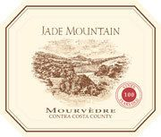Jade Mountain Old Vine Mourvedre 2002 Front Label