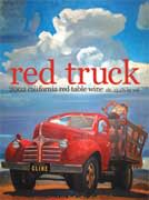 Cline Red Truck 2002 Front Label