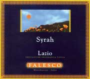 Falesco Syrah 2002 Front Label