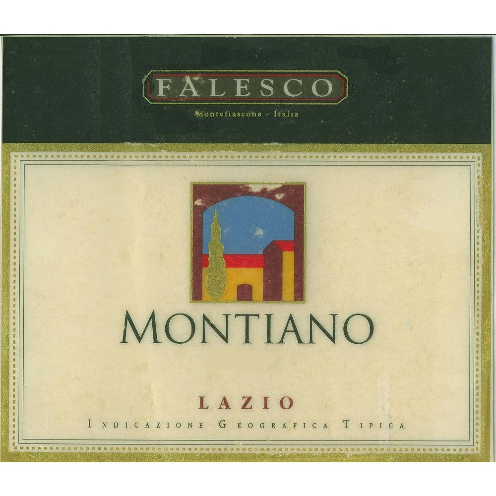 Falesco Montiano 2001 Front Label