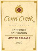 Conn Creek Cabernet Sauvignon 2000 Front Label