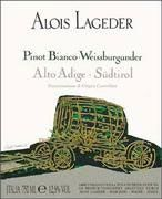 Alois Lageder Pinot Bianco 2003 Front Label