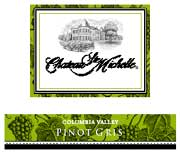 Chateau Ste. Michelle Pinot Gris 2003 Front Label