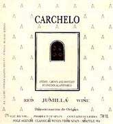 Bodegas Carchelo Jumilla Monastrell Mourvedre 2003 Front Label