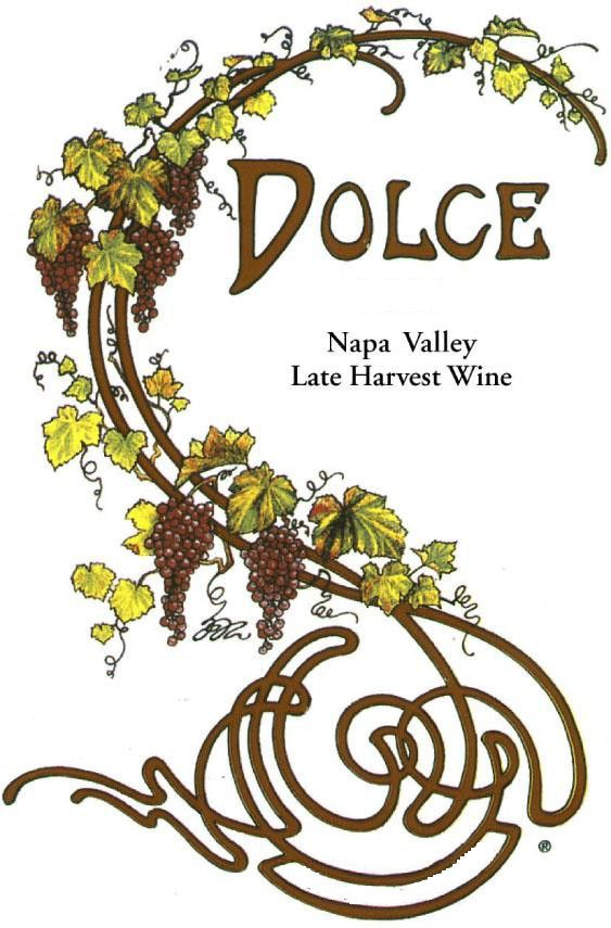 Dolce (375ML half-bottle) 2013 Front Label