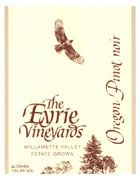 Eyrie Estate Pinot Noir 2002 Front Label