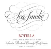 Sea Smoke Cellars Botella Pinot Noir 2002 Front Label
